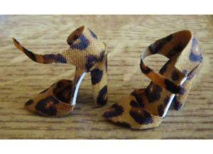как сделать туфли для барби6
