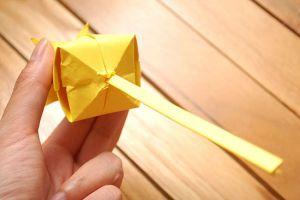 как сделать тюльпан из бумаги 17 2