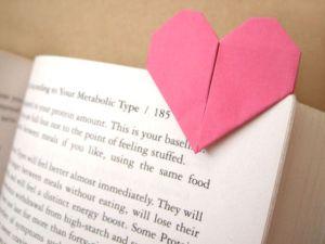 как сделать закладку сердечко 1