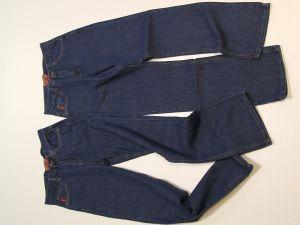 как сшить юбку из джинсов1
