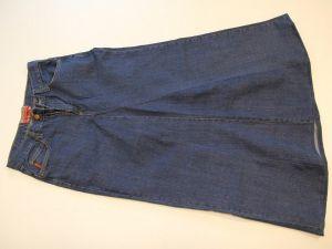 как сшить юбку из джинсов20