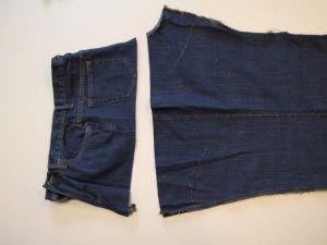 как сшить юбку из джинсов3
