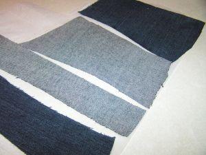 как сшить юбку из джинсов31