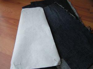 как сшить юбку из джинсов32