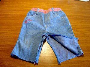 как сшить юбку из джинсов42