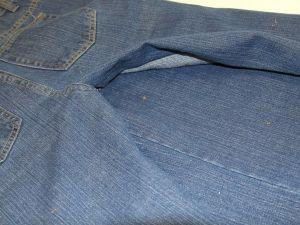 как сшить юбку из джинсов7