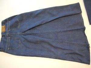 как сшить юбку из джинсов9