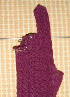 как связать перчатки спицами 8 1