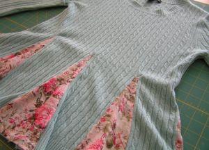 как украсить свитер своими руками8