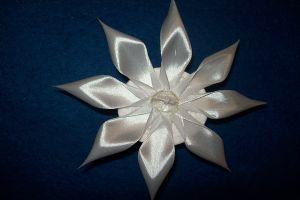 канзаши хризантема мастер класс5