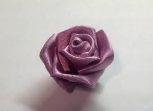 канзаши как сделать розу14