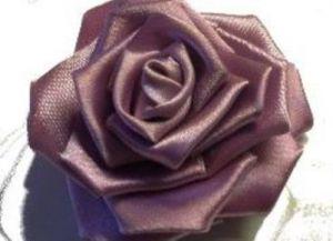 канзаши как сделать розу16