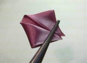 канзаши как сделать розу4