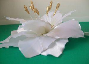 канзаши лилия мастер класс 7