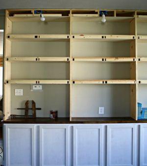 Книжный шкаф своими руками11