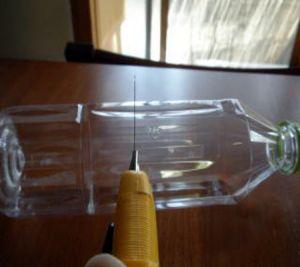 вертушка из пластиковой бутылки 1