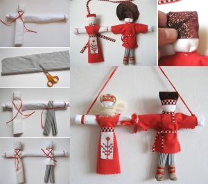 Куклы обереги на семью своими руками
