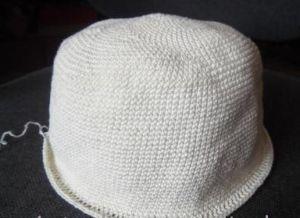 летняя шляпа крючком4