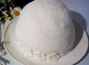 летняя шляпа крючком6
