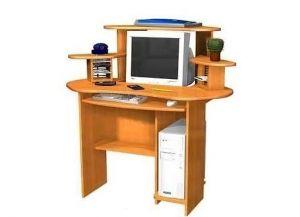малогабаритный компьютерный стол 6