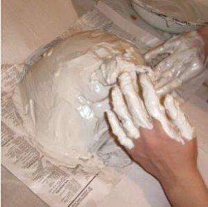 маска из папье маше 3