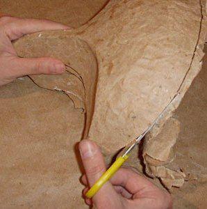 маска из папье маше 9
