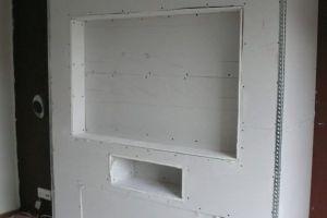 Мебель из гипсокартона своими руками