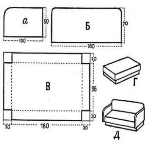 мебель из картона для кукол 3