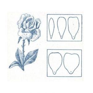 Розы из гофрированной бумаги1