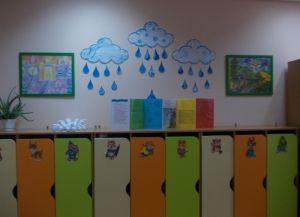 Оформление раздевалки в детском саду 1