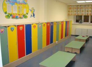 Оформление раздевалки в детском саду 4