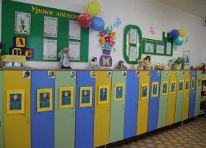 Оформление раздевалки в детском саду 6