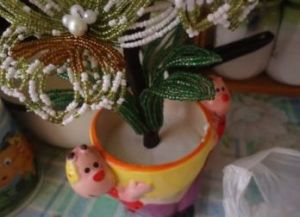 орхидея из бисера мастер класс26