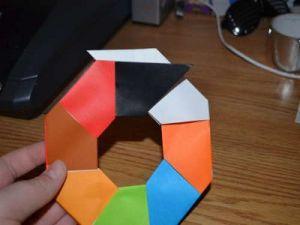 оригами из бумаги вертушка121