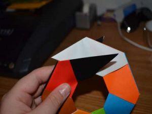 оригами из бумаги вертушка12