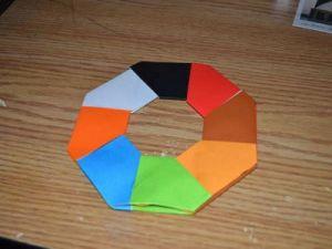 оригами из бумаги вертушка13