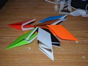 оригами из бумаги вертушка8