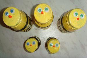 Пчелы из пластиковых бутылок10