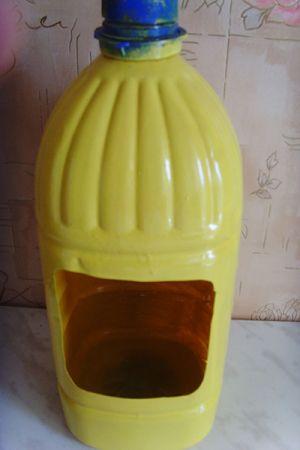 Пчелы из пластиковых бутылок13