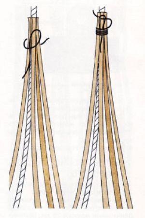 плетение браслетов из шнурков11