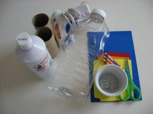 поделка ракета из пластиковой бутылки 1