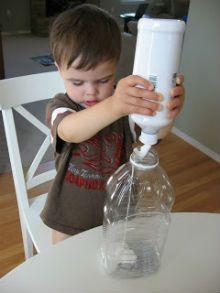 поделка ракета из пластиковой бутылки2
