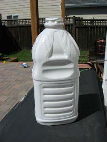 поделка ракета из пластиковой бутылки3