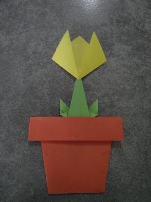 аппликация тюльпан 14