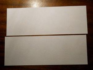 как сделать из бумаги бумеранг 1