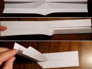 как сделать из бумаги бумеранг 3