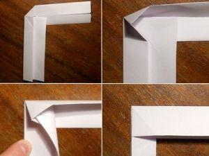 как сделать из бумаги бумеранг 4