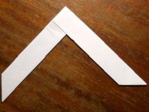 как сделать из бумаги бумеранг 8