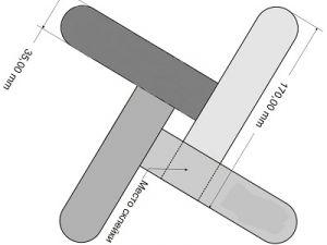 как сделать из бумаги бумеранг 9