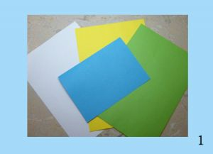 поделки из бумаги для бабушки 1